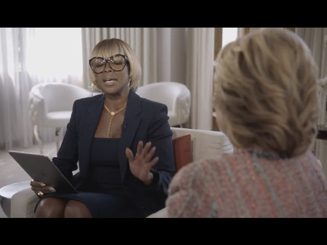 Mary J. Blige Serenades Hillary Clinton in Apple Music Interview