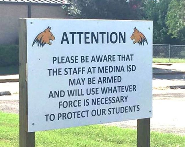 Armed Texas Teachers We Will Protect Our Students