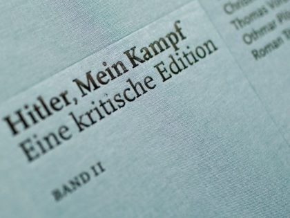 "British historian Sir Ian Kershaw speaks at the presentation of the new critical edition of Adolf Hitler's ""Mein Kampf"" at the Institut fuer Zeitgeschichte (Institute for Contemporary History)on January 8, 2016 in Munich, Germany. The new edition, which augments Hitler's original text with critical analysis, is the first new publication …"