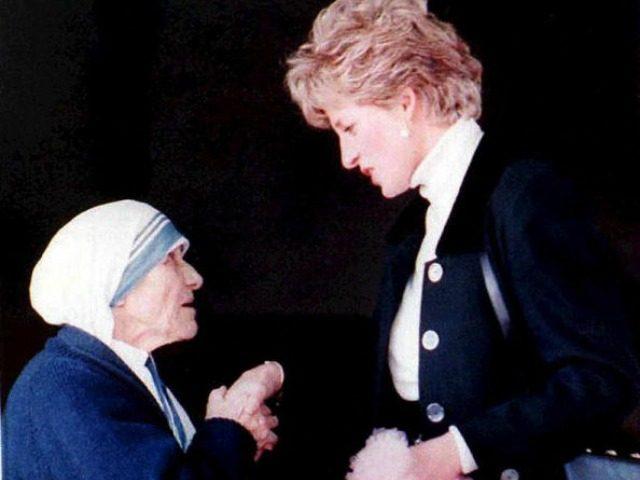 Mother Teresa, Princess Diana AFP