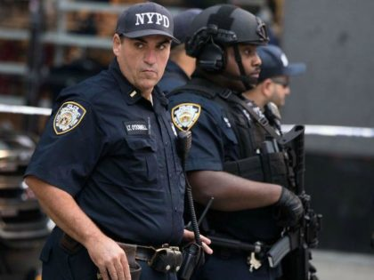 NYPD Officers AFP