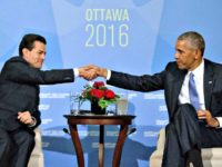 Obama and Nieto AP