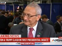 Podesta: 'Big Question' Whether Trump Will Do Remaining Debates, 'Maybe It Would Be Smart' If He Didn't