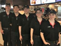 Michigan Quintuplets Work First Jobs Together at the Same McDonald's