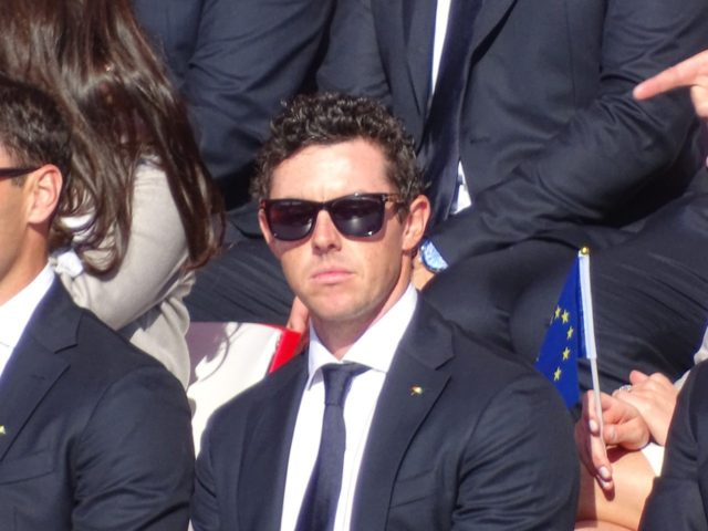 Rory McIlroy at Ryder Cup 2016