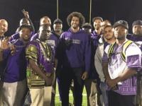 Colin Kaepernick at Castlemont High (Castlemont Football / Twitter)