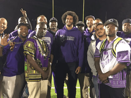 Colin Kaepernick Takes Anthem Protest to Local High School