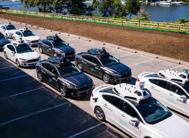 Self-driving cars (Angelo Merendino / AFP / Getty)