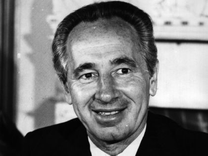 Shimon Peres (Keystone / Getty)