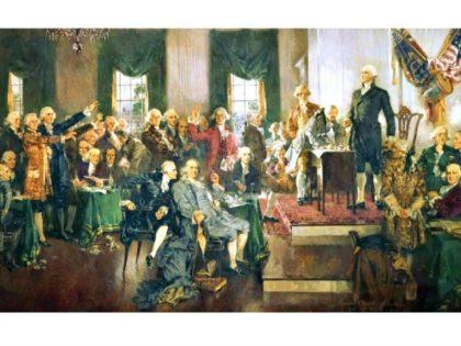 Signing Constitution Howard Chandler Christy