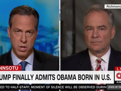 """Sunday on CNN's """"State of the Union,"""" host Jake Tapper …"""
