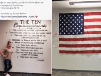 Ten Commandments Mural