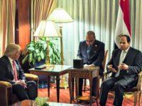 Trump El-Sisi AP