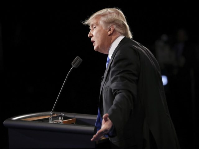 Trump bad debate (Joe Raedle / Associated Press)