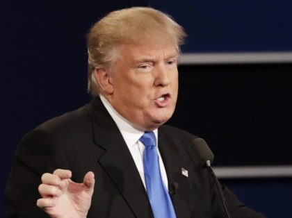 Trump debate (David Goldman / Associated Press)