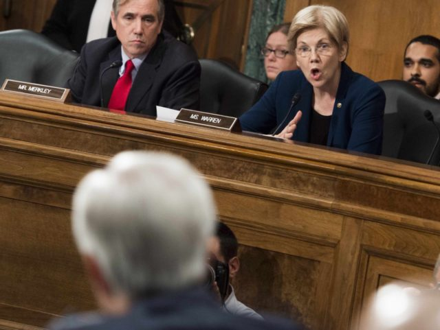 Wells Fargo Elizabeth Warren (Saul Loeb / Getty)