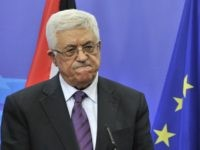 Palestinian president Mahmud Abbas gives a joint press conference after a working session on December 14, 2011 at the EU Headquarters in Brussels. AFP PHOTO/ GEORGES GOBET (Photo credit should read GEORGES GOBET/AFP/Getty Images)