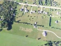 Michigan Man Mows 58,000 Square-Foot 'TRUMP' Sign into Lawn