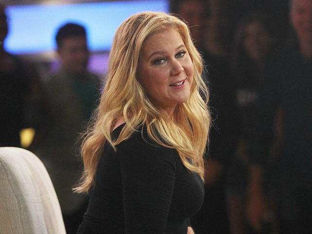Amy Schumer 'Good Morning America' TV show, New York, USA - 16 Aug 2016 (Rex Features via AP Images)
