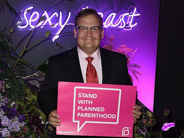 LOS ANGELES, CA - SEPTEMBER 10: Andy Richter hosts Sexy Beast for Planned Parenthood LA at The Theatre At The Ace Hotel on September 10, 2016 in Los Angeles, California. (Photo by Joshua Blanchard/Patrick McMullan via Getty Images)