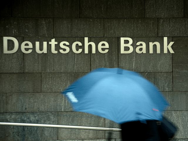 Despite… the EU? German Bank Slashing 18,000 Jobs in 'Restructuring'		74 Thomas Lohnes  GettyBREITBART LONDON7 Jul 2019