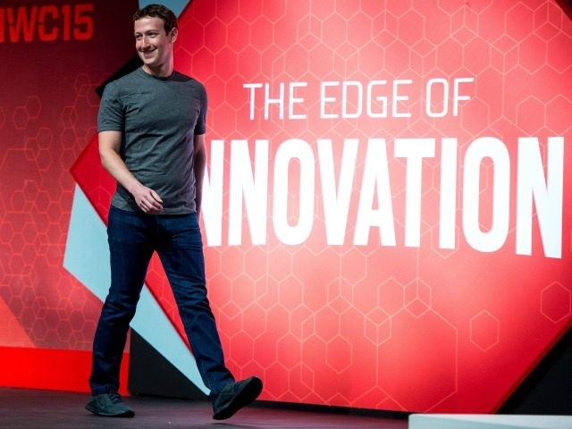 Founder and CEO of Facebook Mark Zuckerberg he walks onto the stage prior to his keynote conference during the first day of the Mobile World Congress 2015 at the Fira Gran Via complex on March 2, 2015 in Barcelona, Spain. The annual Mobile World Congress hosts some of the wold's …