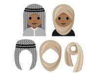 hijab-emojis