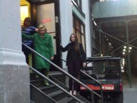 Video: Hillary Clinton Conquers Stairs, Curb with Aides Watching Closely