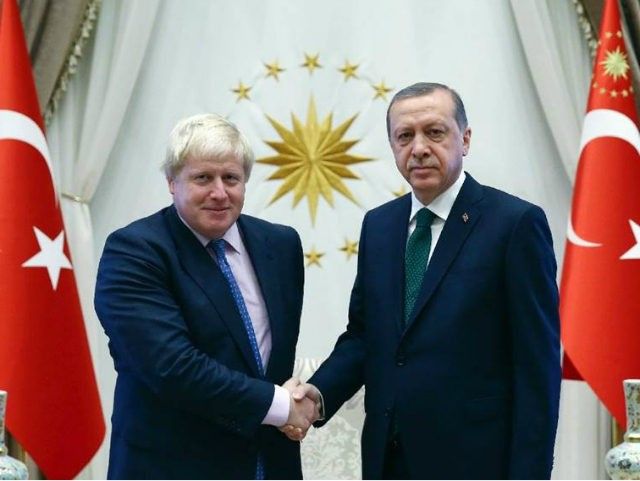(AFP) - British foreign minister Boris Johnson on Tuesday brushed …