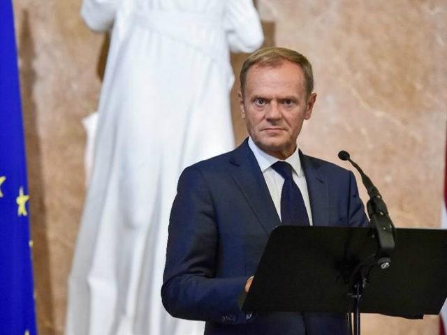 (AFP) - EU President Donald Tusk on Tuesday warned leaders …