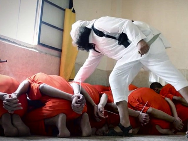 Islamic State Celebrates Eid al-Adha with Video of Prisoners Hanging from Meat Hooks