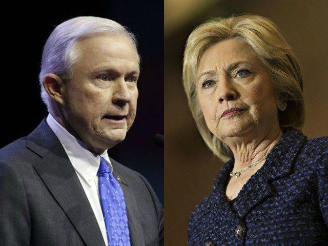 Image result for jeff sessions hillary clinton