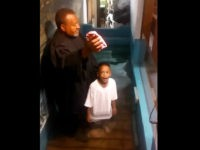 VIDEO: Kentucky Boy Baptized Himself After He Gets Bored of Waiting