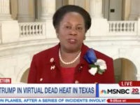 "Friday on MSNBC, Rep. Sheila Jackson Lee (D-TX) said, ""This race …"