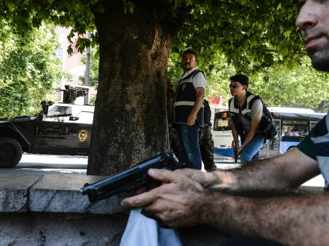 Knife-wielding man shot outside Israeli embassy in Turkey