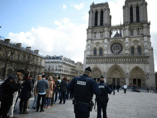 3 women detained over gas canisters near Paris' Notre Dame