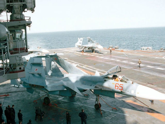 Russian Fighter Comes Within 10 Feet of U.S. Navy Plane During Unsafe Intercept