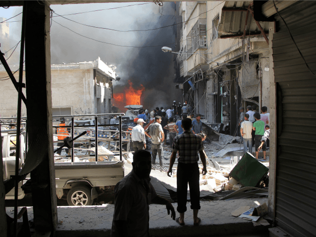 First airstrikes hit Aleppo since truce began