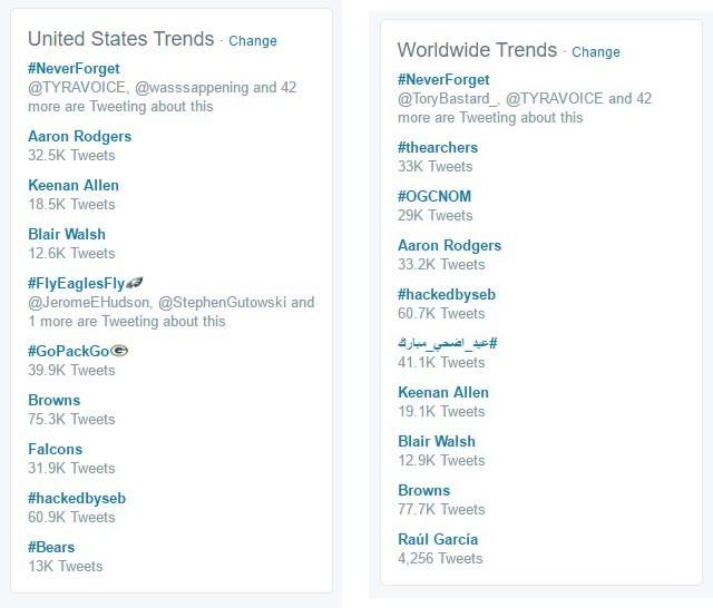 twitter-trends-hillary-clinton