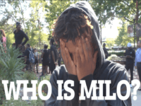 WATCH: Clueless Milo Protester Doesn't Even Know Who Milo Is