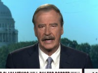 "Wednesday on MSNBC's ""Morning Joe,"" former Mexican President Vicente Fox …"