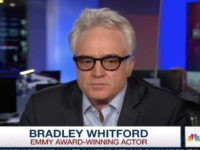 'West Wing' Actor Bradley Whitford: Trump Morally Bankrupt, Shameless 'Rodeo Clown'