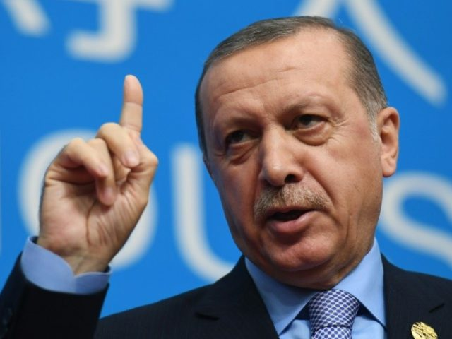 In a speech in New York after attending the UN General Assembly, Erdogan said Washington was mistaken in using the Syrian Kurdish militia the YPG as an ally in the fight against IS