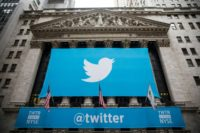 Twitter shares soared more than 16 percent after CNBC reported that the company was moving close to a sale, with Alphabet/Google and Salesforce possible buyers
