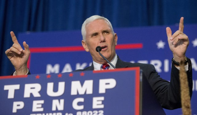 Pence appears in Manchester at Penn Waste plant
