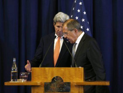 John Kerry, Sergei Lavrov