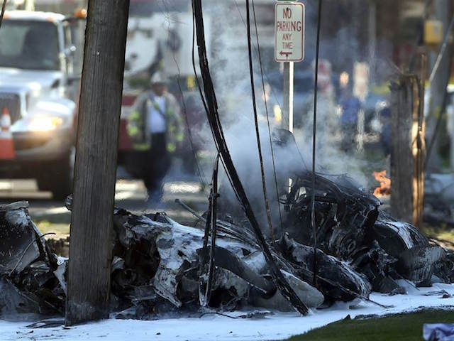 Aircraft crash next to P&W factory may be intentional