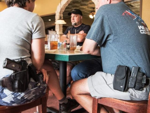 AP Photo - Open Carry in Restaurant