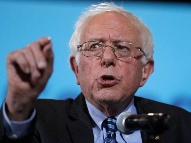 Sen. Bernie Sanders, I-Vt., speaks in Durham, N.H., Wednesday, Sept. 28, 2016.