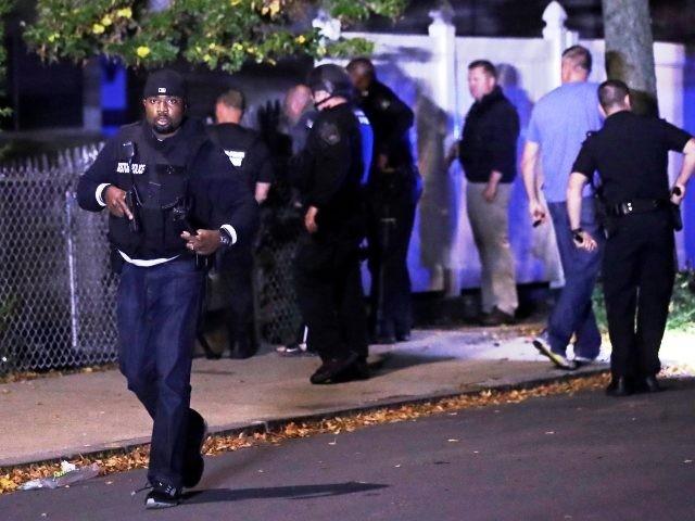 Officers Shot Boston